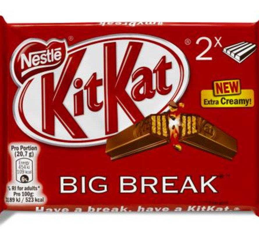 Kitkat Big Break Doos  24 X 83 Gram
