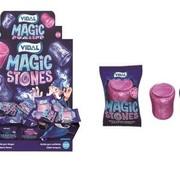 Vidal Magic Stones Bubble Gum Doos 200 Stuks
