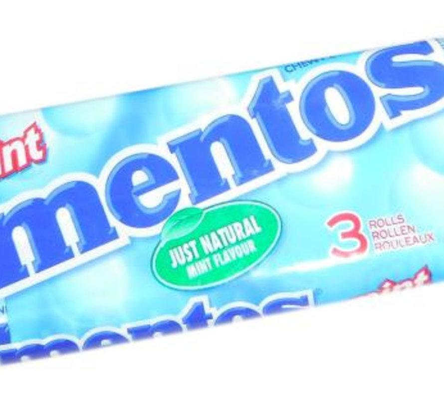 Mentos Mint 3-Pack -Doos 25x3