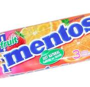 Mentos Mentos 3-Pack Fruit - Doos 25 X 3