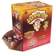 Warheads Warheads Cola Strawberry Lollies Classic 100 Stuks
