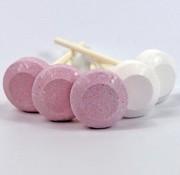 Baby Roze En Witte Dextro Lolly Silo 500Gr