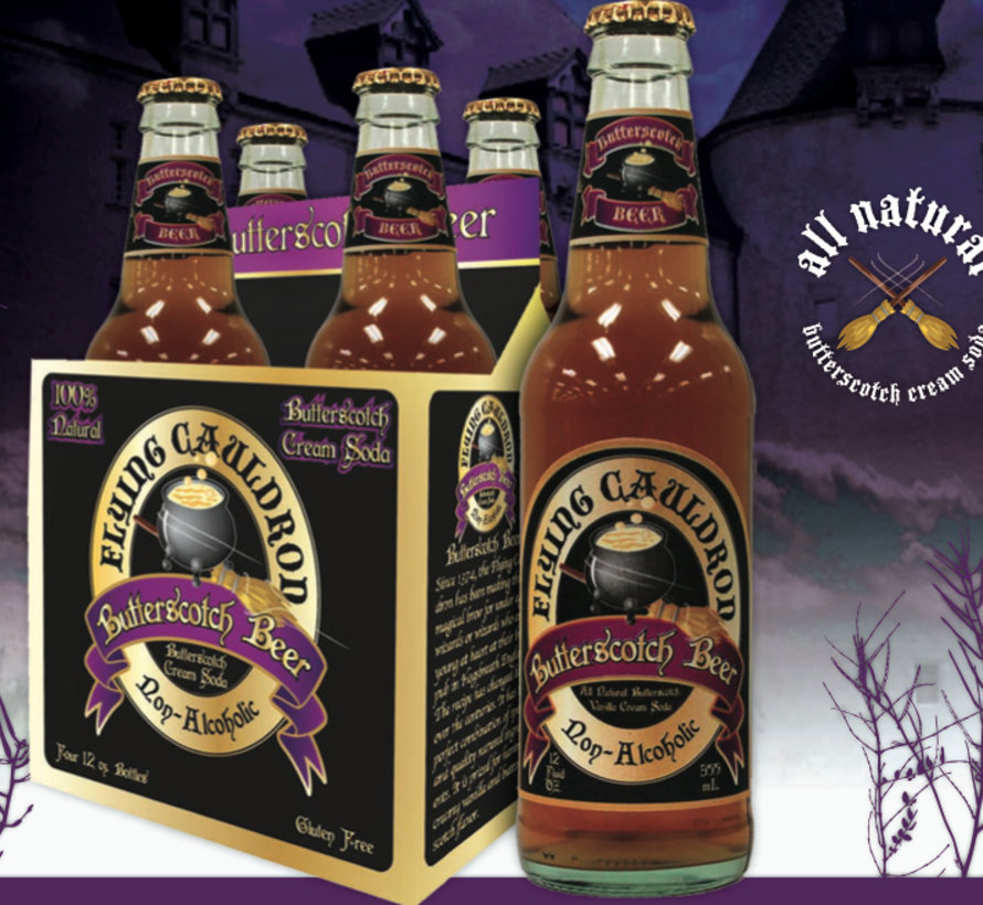'Harry Potter'S' Butterscotch Beer Flyingcauldron