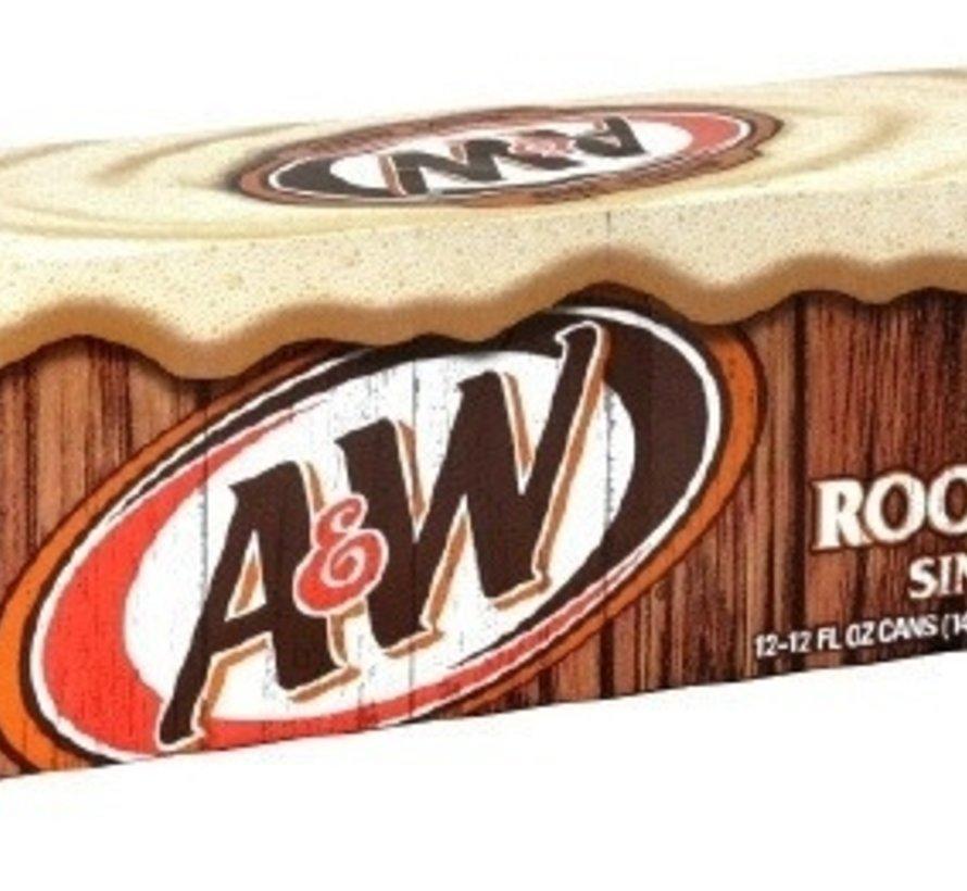 A&W Rootbeer -Tray 12 Stuks