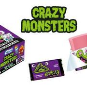 Vidal Crazy Monster Tattoo Bubbel Gum Doos 200 Stuks
