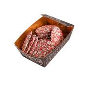 Tosca Geboorteflik Roze Wit Bakje 175 Gram  Doos  12 Stuks