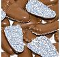 Babyvoetjes Blauw Wit Musket Doos 2.5  Kg
