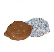 Baby Baby Snoetjes Blauw Wit Musket Doos 2 Kg