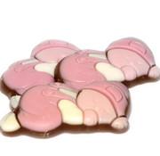 Baby Chocolade Baby Melk Wit Roze Doos 2 Kg