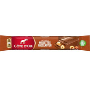 Côte d'OR Cote D'Or Reep Melk Hazelnoot - Doos  32 X 45 Gr
