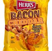 Herr's Food Inc Cheddar Bacon Cheese Curls -Doos 12x170 gram