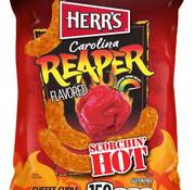 Herr's Food Inc Herr's Carolina Reaper Cheese Curls -Doos 42x28 gram