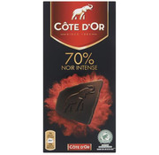 Côte d'OR Cote D'Or  Sensations Noir 70%  Doos 16 X 100 Gram