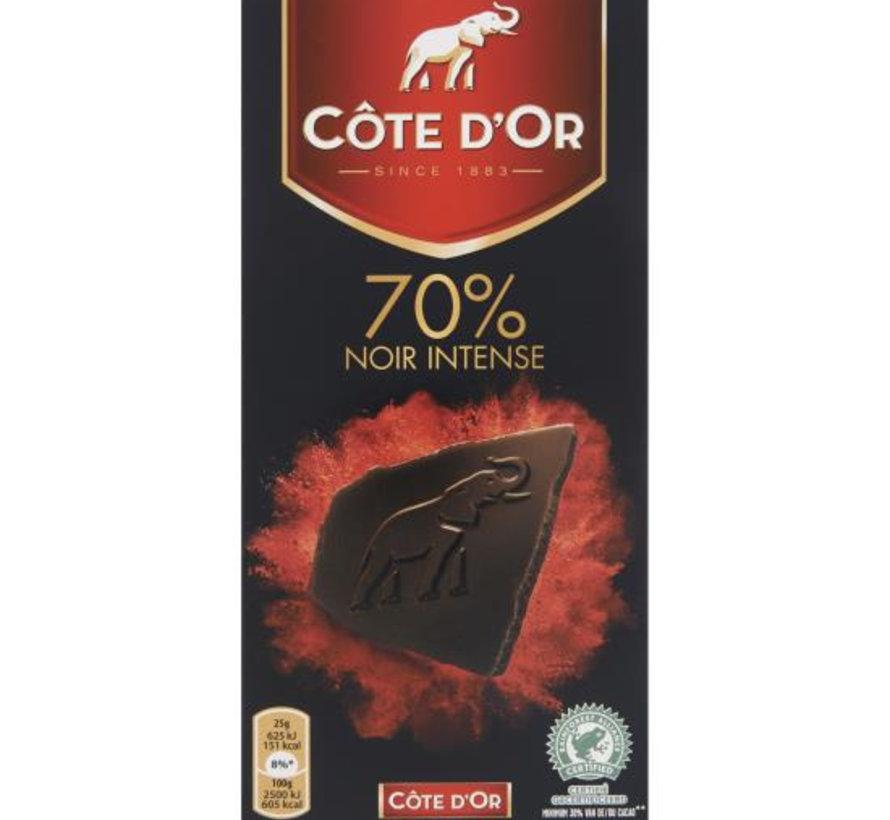 Cote D'Or Sensations Noir 70%  Doos 16 X 100 Gram