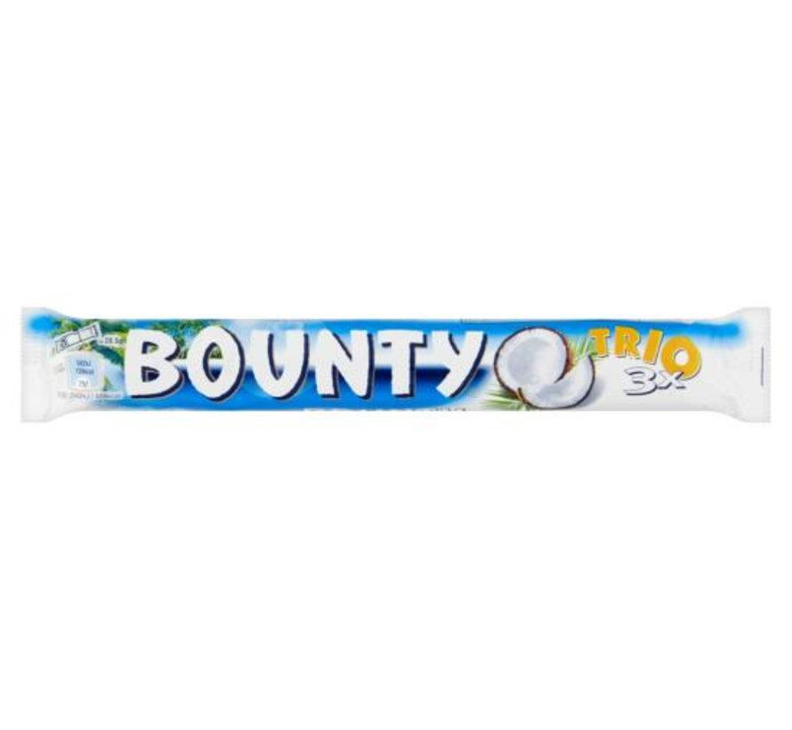 Bounty Trio Melk - Doos 21 stuks