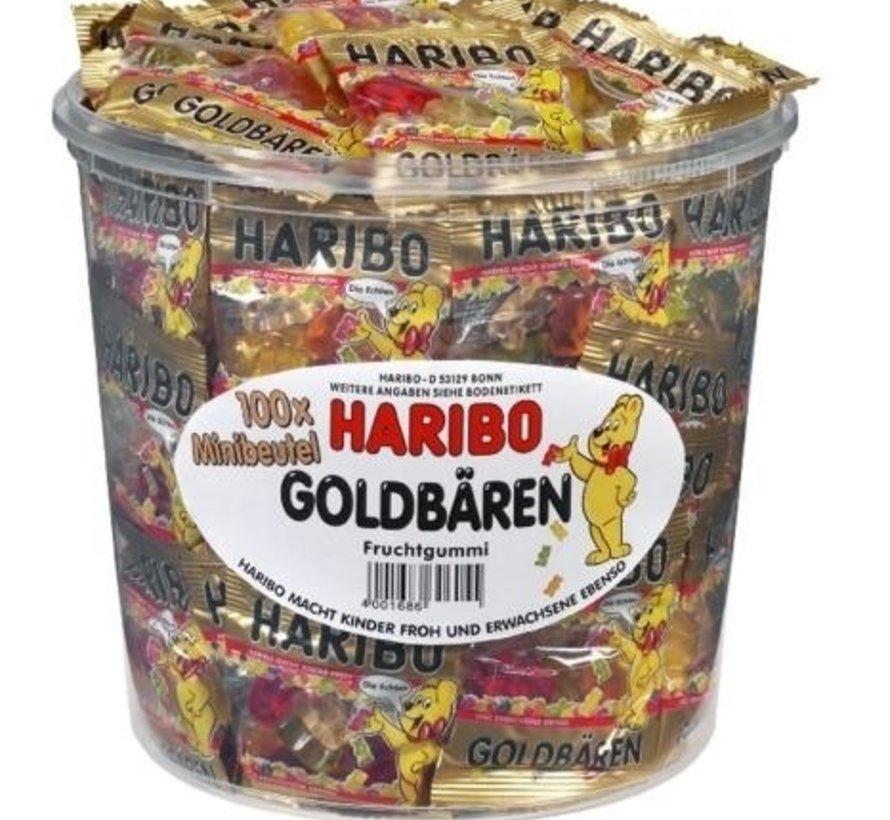 Goudbeertjes Haribo Silo 100 Stuks