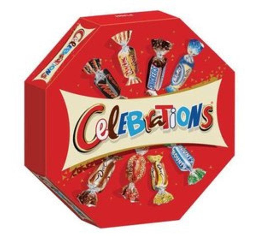 Celebrations  Uitdeeldoos 385 Gr - Doos 8 Stuks