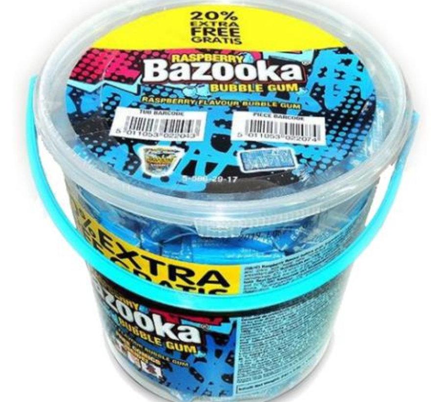 Bazooka Framboos Kauwgom In Emmer 200 Stuks