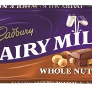 Cadbury Cadbury Whole Nut 110 Gr - Doos 16 Stuks