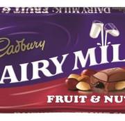 Cadbury Cadbury Fruit&Nut 110 Gr Doos 18 Stuks