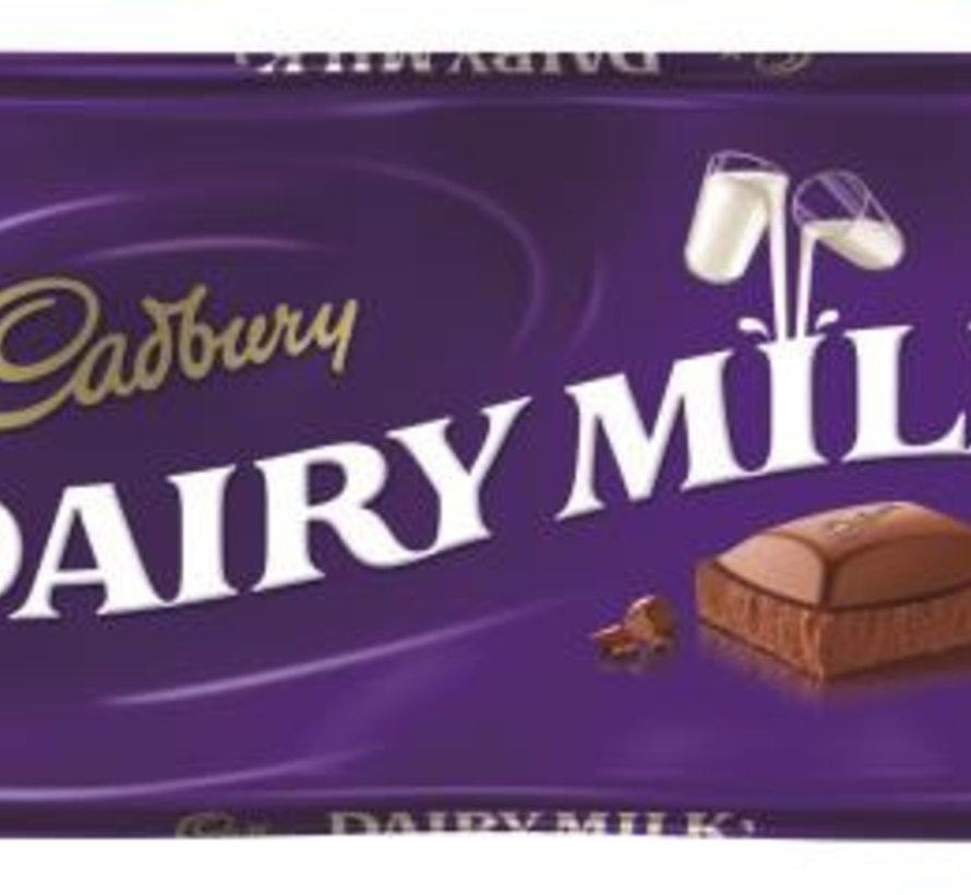 Cadbury Dairy Milk 110 Gr  Doos 21 Stuks