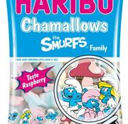 Haribo Chamallows Smurfs Family  Doos 12 X 175 Gram