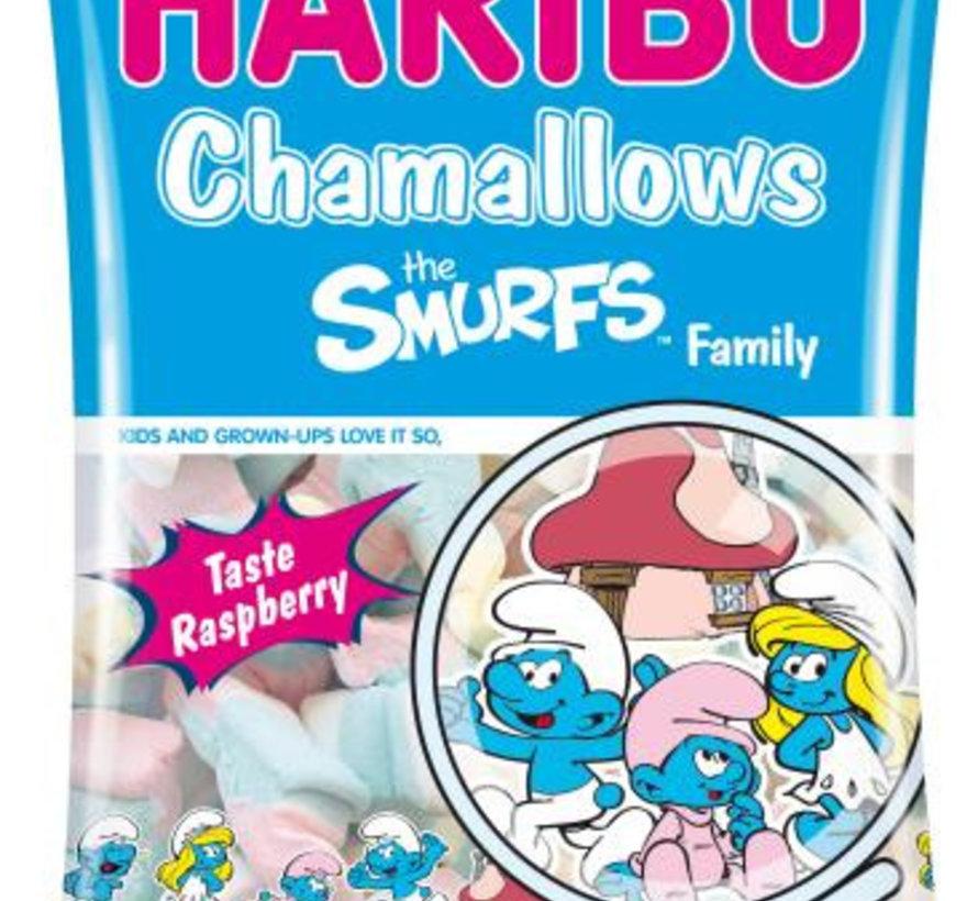 Chamallows Smurfs Family  Doos 12 X 175 Gram