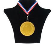 Steenland Bulk Choc Medaille+Lint 6X50