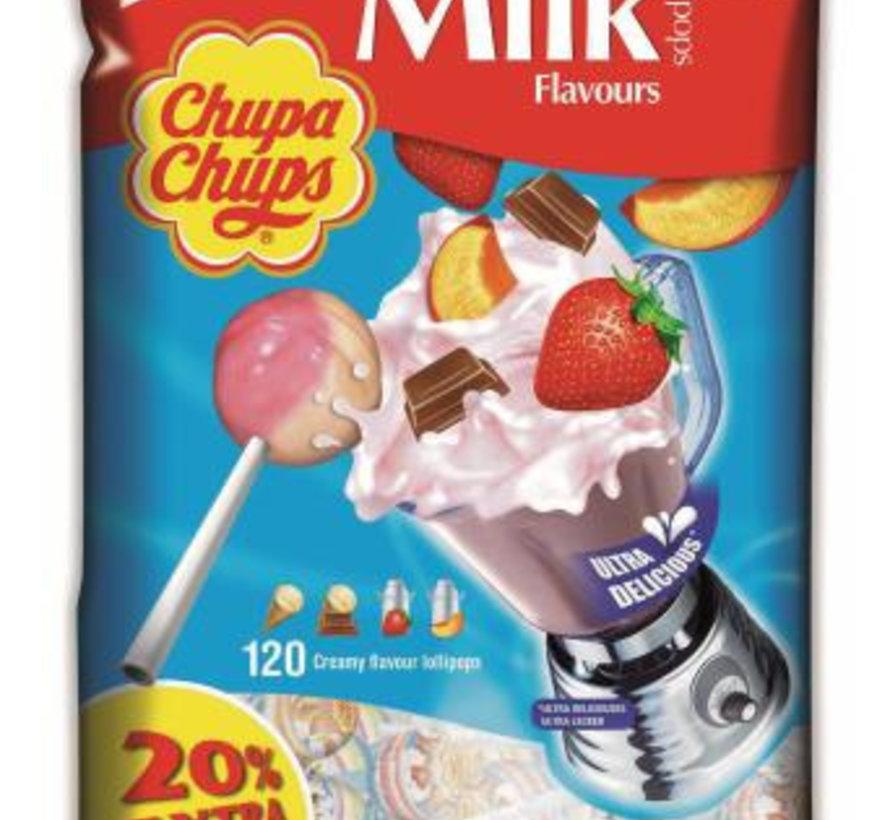 Chupa Chups Cream Zak 100 Stuks