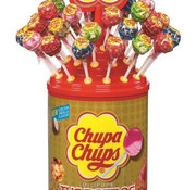 Chupa Chups Chupa Chups The Best Of Display / Silo  100 Stuks
