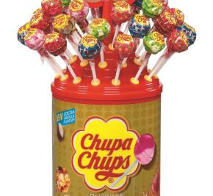 Chupa Chups The Best Of Display / Silo  100 Stuks
