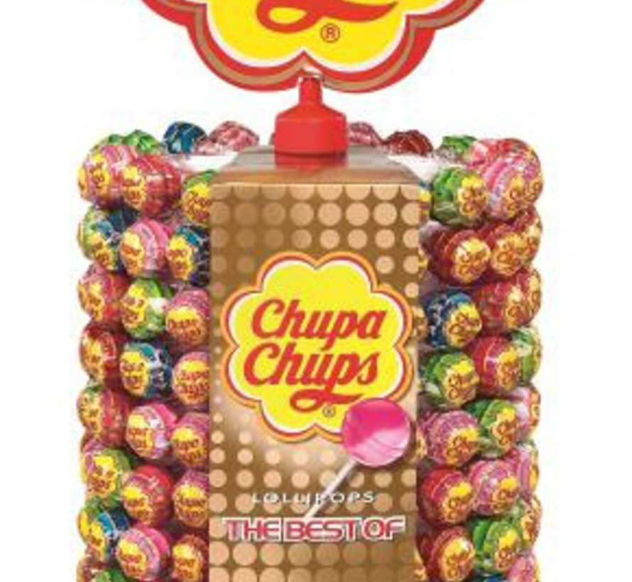 Chupa Chups Wheel Best Of 200 Stuks