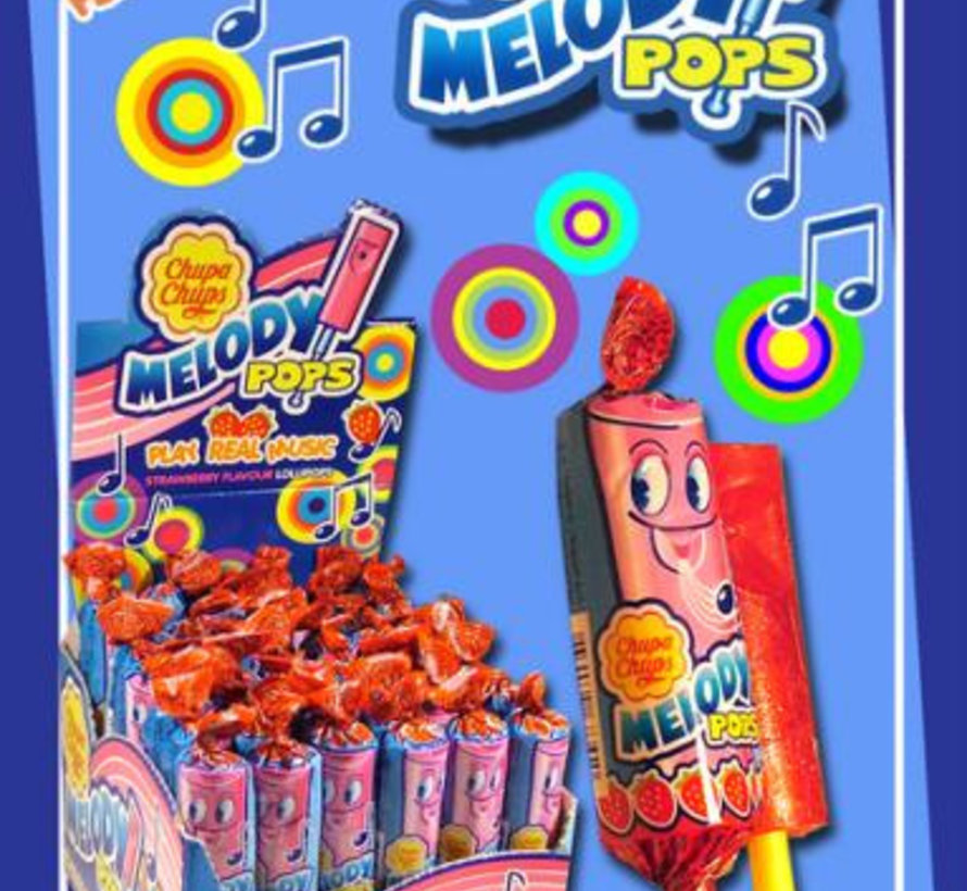 Chupa Chups Melody Pops Doos 48 Stuks