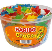 Haribo Croco (Krokodil) Haribo Silo 150 Stuks