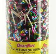 Crest Cola Fun Pop Lolly (Disco) Silo 150 Stuks
