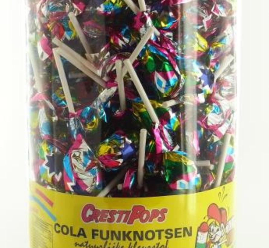 Cola Fun Pop Lolly (Disco) Silo 150 Stuks
