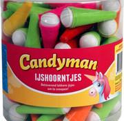 CandyMan Candyman Ijshoorntjes Silo 90 Stuks