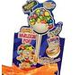 Cool Harlekin Pop Gum Fizzy Filled Doos 15 Stuks