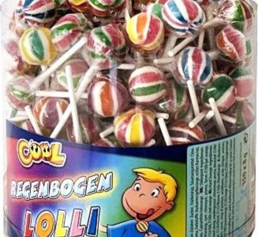 Cool Regenbogen Lolly Silo 150 Stuks