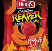 Herr's Food Inc Herr's Carolina Reaper Cheese Curls -Doos 12x184 gram
