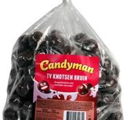 CandyMan Candyman Tv Knotsen Bruin - 150 Stuks