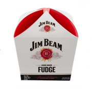 jim Beam Bourbon Whiskey Fudge Jim Beam - Carton Present