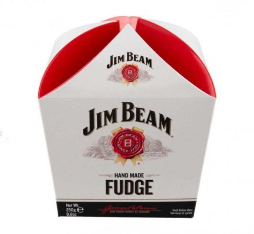 Bourbon Whiskey Fudge Jim Beam - Carton Present