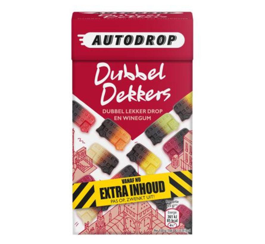 Dubbel Dekkers Autodrop -Doos 6 x 280 gram