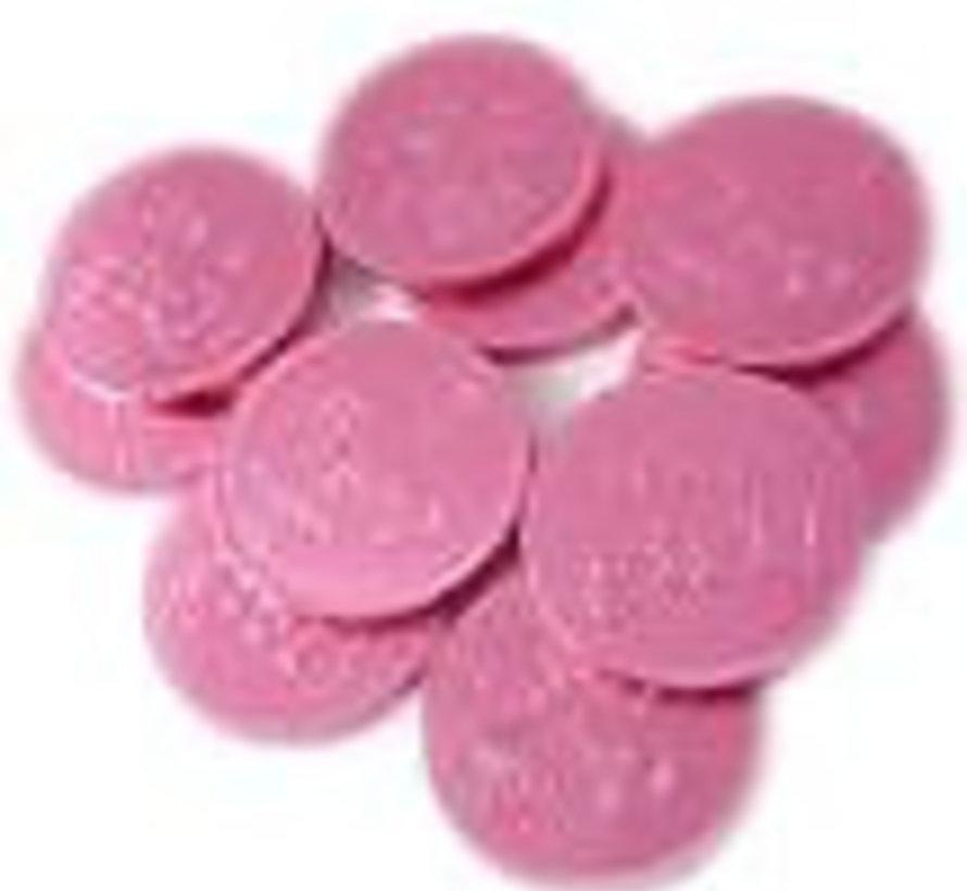Baby Chocolade Munten Roze Silo 780 Gram