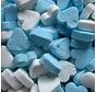 Blauwe Pepermunt Mini Hartjes 1 Kilo