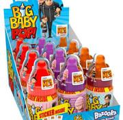 Bazooka Baby Big Pop -Doos 12 Stuks