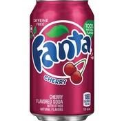 Fanta Fanta Wild Cherry - Tray Fanta Kers 12 Stuks