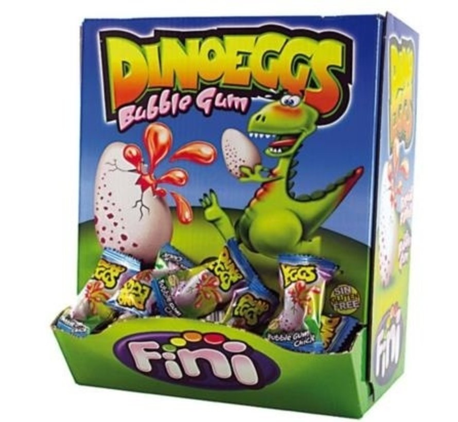 Dino Eggs Gluten Vrij -Doos 200 Stuks