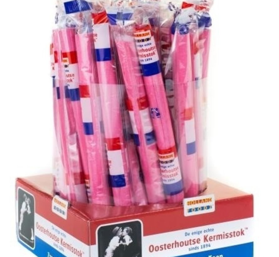 Authentieke Zuurstuk Roze 24 Cm